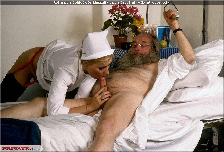 Faszszopással gyógyító nővér