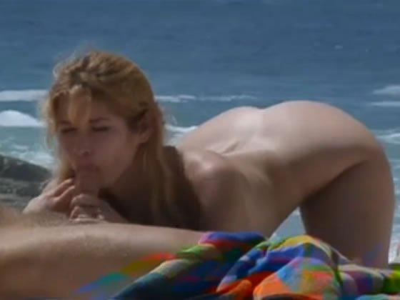 Szex a homokos tengerparton