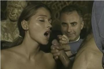 Retro pornó - arcraélvezés