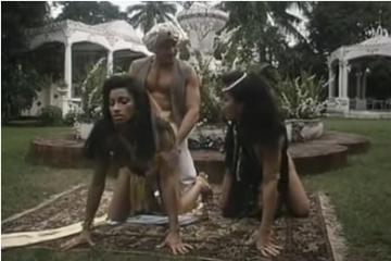 Retro pornófilm - Aladin