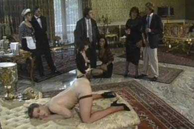 Régi pornófilmek - Perverz urak és hölgyek