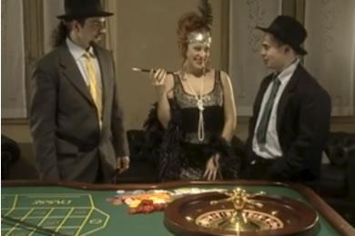 Szexrulett és baszás a kaszinóban