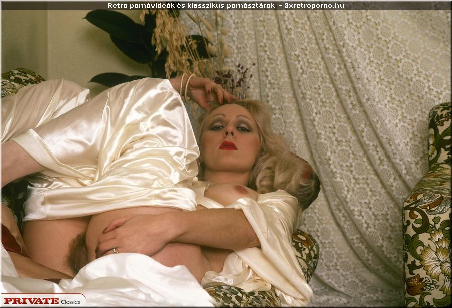 Vintage szőke tini pornó